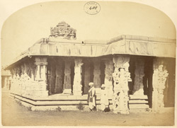 Mandapa of the Someshvara Temple, Kolar